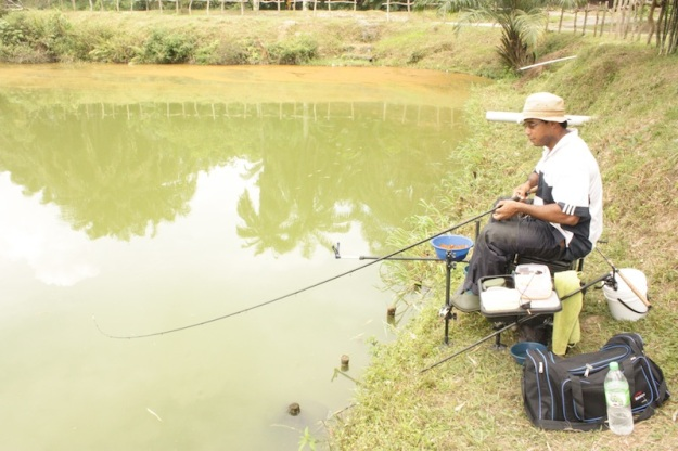 Sadly the arapaima got away. A fight like no other still. 20lb line with 10lb leader.