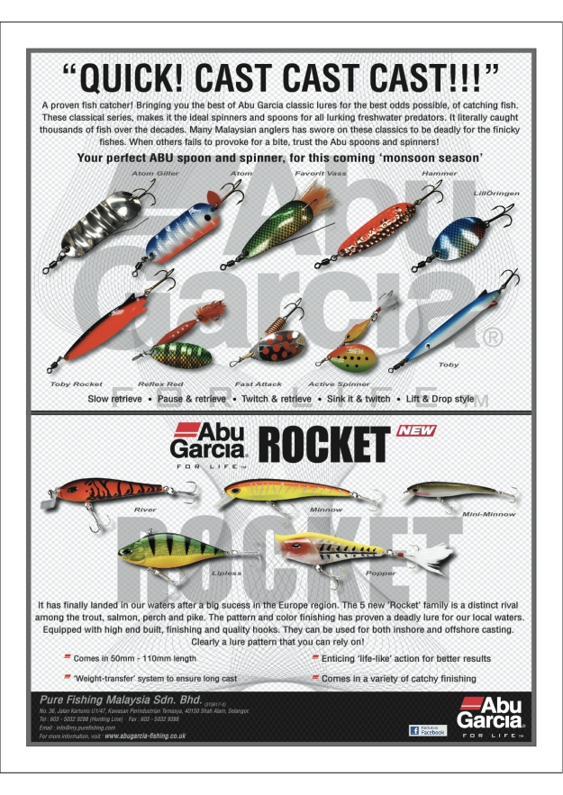 Abu Garcia Spoon & Spinners (Dec 2012)