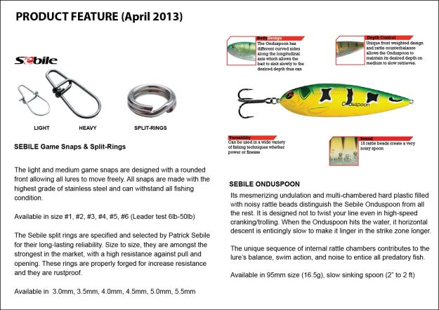 Product Feature 2 (April 2013)