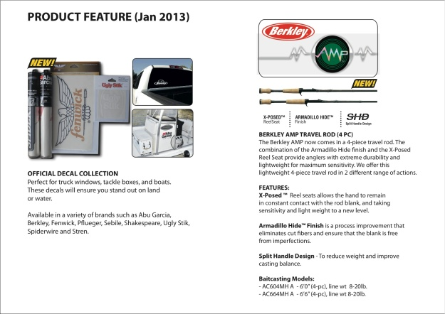 Product Feature (Jan 2013)